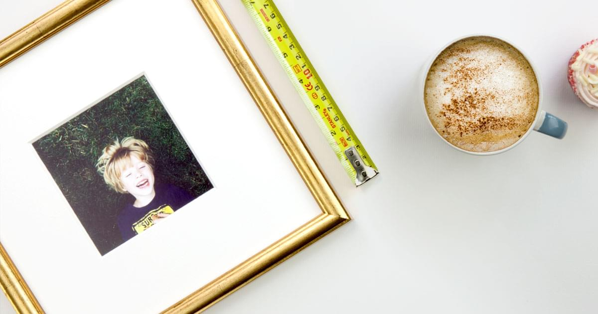 Custom & Standard Size Frames | Picture Frame Sizes | eFRAME